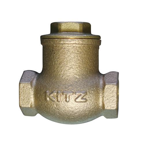 KITZ(キッツ) スイングチャッキバルブ 青銅 R-80A バルブ R型 ねじ込み形 スイング逆止め弁 クラス125