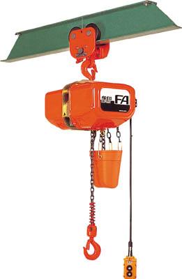 FAP-01030 象印 FA型プレントロリ式電気チェーンブロック1t(直送元払い・沖縄/離島除く)