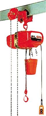 SAG-01030 象印 単相100Vギヤードトロリ式電気チェーンブロック1.0t(直送元払い・沖縄/離島除く)
