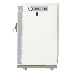 日立 コンプレッサー スクロール無給油式 SRL-0.75DSN 単相100V 0.75kW 50/60HZ