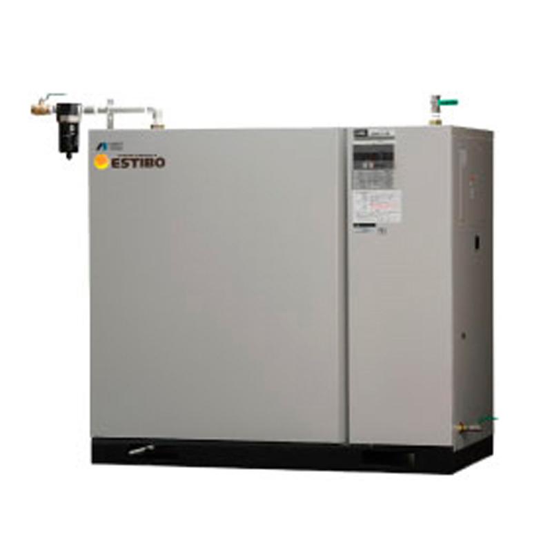 アネスト岩田 ブースター コンプレッサー パッケージCLBS75C-30-M6 (60Hz用)給油式 マイコン制御 ドライヤー付 三相200V/7.5kW