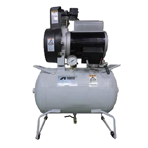 アネスト岩田 コンプレッサー タンクマウント TFP02E-10M 無給油式 圧力開閉器式 ドライヤー無し 三相200V 0.2kW