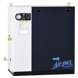 明治機械製作所 エアコンプレッサ APK-37D 5P パッケージ給油式 三相200V 3.7kW 50Hz用