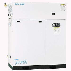 明治機械製作所 エアコンプレッサ DPK-150C 6P パッケージ給油式 ドライヤ付 三相200V 15kW 60Hz用