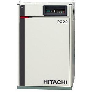 日立 コンプレッサー パッケージベビコン PB-2.2MNB5 (50Hz用) 給油式 ECO/PUSC方式切替 ドライヤー無し 三相200V 2.2kW