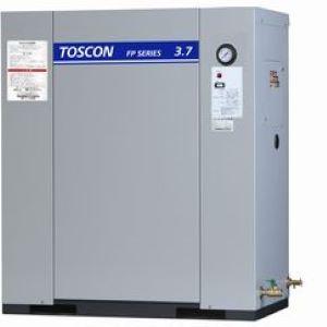 東芝 エアコンプレッサ FP146-75T 静音 パッケージ給油式中圧 三相200V 7.5kW 60Hz