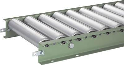 VR-5714-300-75-1000 TRUSCO スチールローラーコンベヤ Φ57 W300XP75XL1000(運賃別途必要)