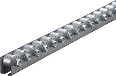 V2015P-25-1500 TRUSCO ホイールコンベヤ プレス製Φ20X15 P25XL1500(運賃別途必要)