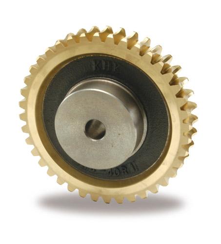小原歯車工業 KHK AG2.5-60R1 歯車 ウォームホイール アルミ青銅鋳物タイプ AG型 モジュール2.5