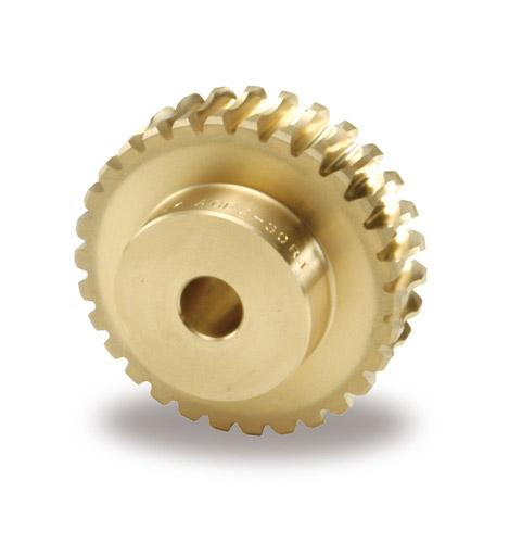 小原歯車工業 KHK AGF5-25R1 歯車 ウォームホイール アルミ青銅鋳物タイプ AGF型 モジュール5