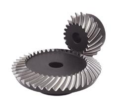 小原歯車工業 KHK SBSG4-4020R 歯車 歯研かさ歯車 歯面高周波焼入タイプ SBSG型 まがり歯タイプ モジュール4
