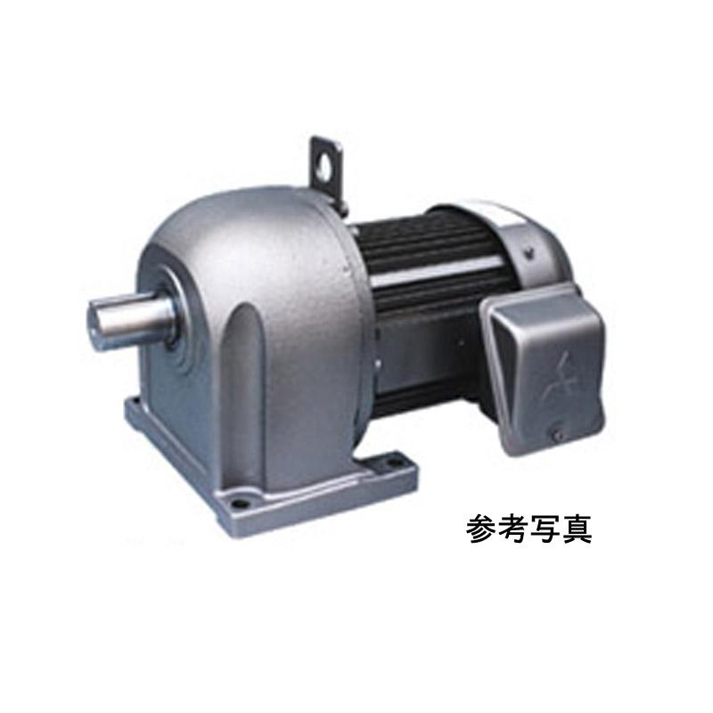 三菱電機 (ミツビシ) ギヤードモータ GM-DP-2.2KW-1/20 三相 200V 2.2KW 減速比1/20 脚取付 ブレーキ無し 平行軸 GM-DPシリーズ