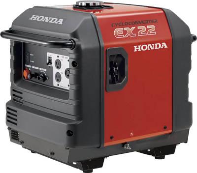 EX22K1JNA2 HONDA 防音型発電機 2.2kVA(交流専用)車輪無