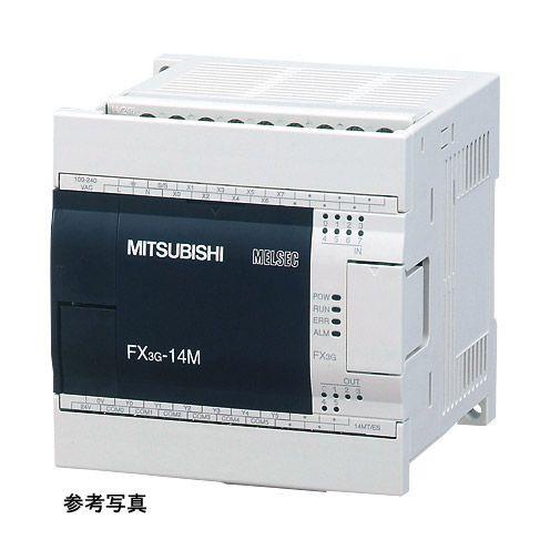 三菱電機(ミツビシ) シーケンサ FX3G-24MT/ES(トランジスタ) MELSEC-F FX3G基本ユニット AC電源 DC入力 FX3シリーズ