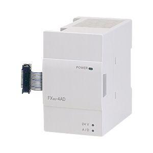 三菱電機(ミツビシ) シーケンサ FX3U-4AD MELSEC-F周辺機器 特殊ユニット アナログ入力ブロック