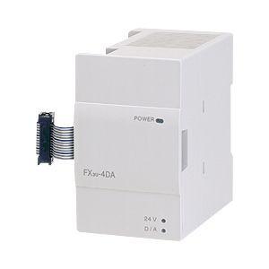 三菱電機(ミツビシ) シーケンサ FX3U-4DA MELSEC-F周辺機器 特殊ユニット アナログ出力ブロック