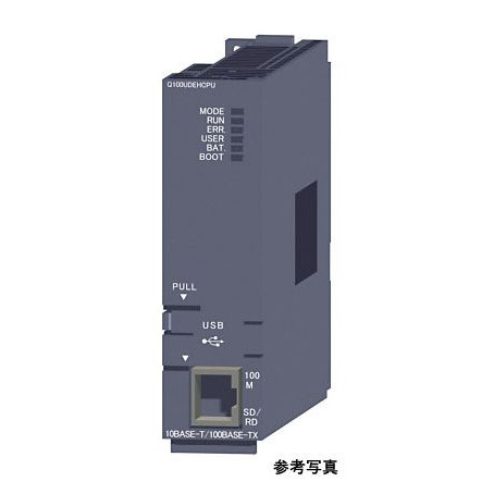 三菱電機(ミツビシ) シーケンサ Q10UDEHCPU MELSEC-Q CPUユニット ユニバーサルモデルQCPU Ethernet内蔵