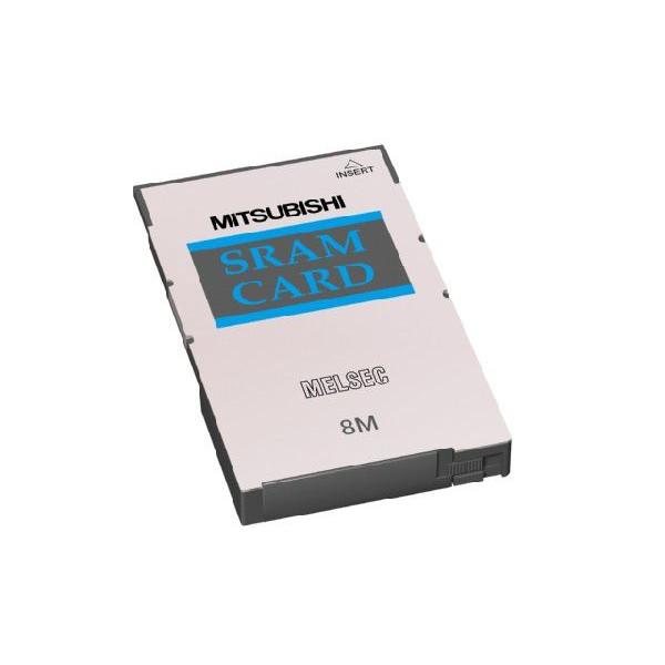 三菱電機(ミツビシ) シーケンサ Q3MEM-8MBS MELSEC-Q CPUユニット 小形SRAMメモリカード 容量:8MB