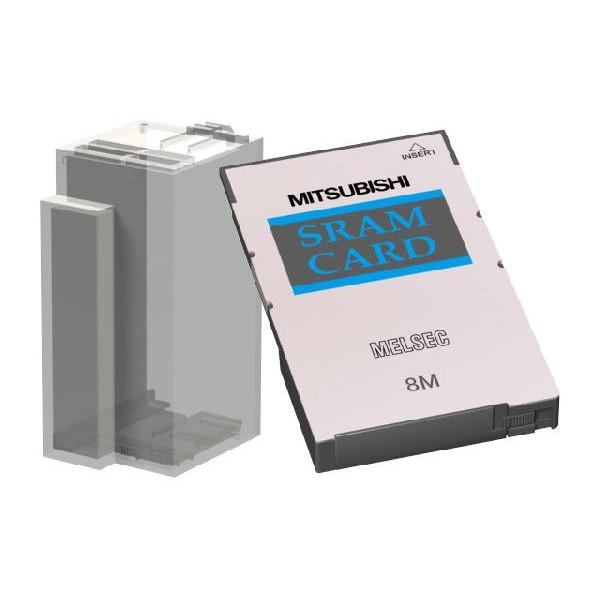 新品登場 三菱電機(ミツビシ) シーケンサ 容量:8MB Q3MEM-8MBS-SET MELSEC-Q CPUユニット シーケンサ 小形SRAMメモリカード 容量:8MB CPUユニット メモリカード保護カバー付き, スクールシャツ通販:69967941 --- 14mmk.com