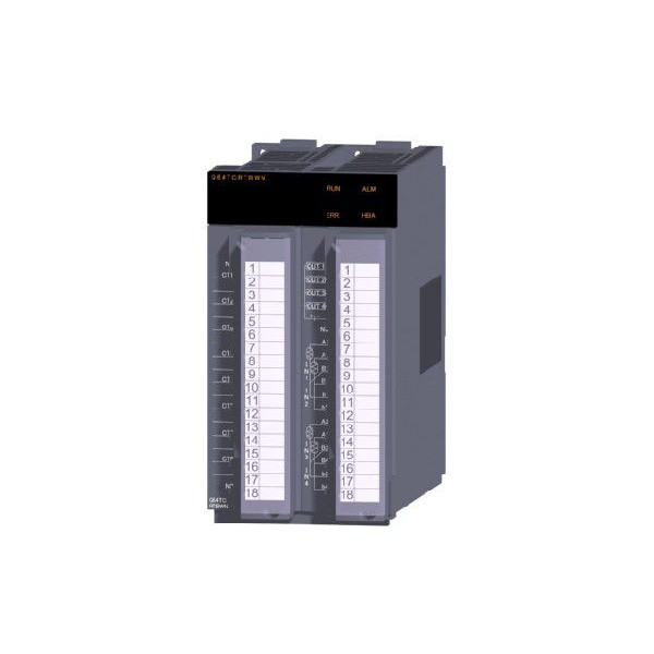 三菱電機(ミツビシ) シーケンサ Q64TCRTBWN MELSEC-Q アナログ入出力ユニット 温度調節ユニット