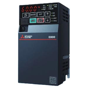 (在庫あり) 三菱電機 インバータ FR-E820-1.5K-1 E800シリーズ 三相200V 1.5kW (三相モーター制御用) インバーター