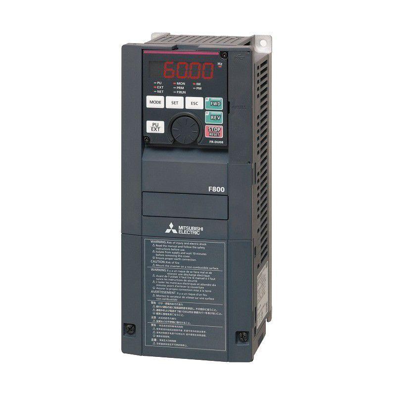 三菱電機 インバータ FR-F840-0.75K-1 F800シリーズ 三相400V入力 0.75kW ファン・ポンプ用インバーター 省エネ