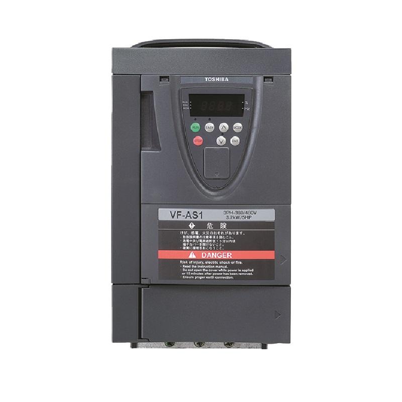 東芝 インバータ VFAS1-4022PL (三相モーター制御用) VF-AS1シリーズ 三相 400V 2.2kW 高トルクインバーター