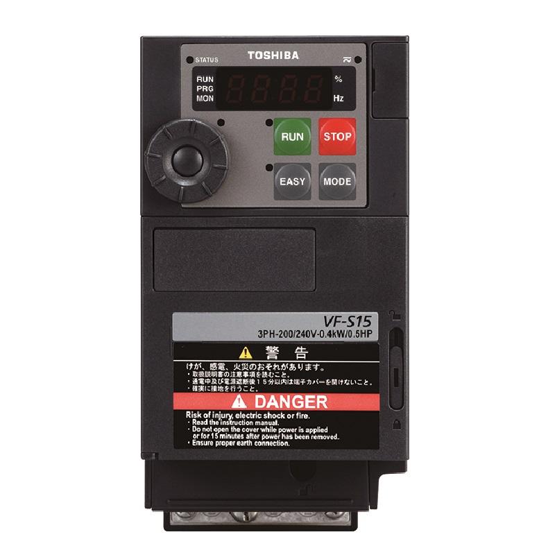 東芝 インバータ VFS15-2150PM (三相モーター制御用) VF-S15シリーズ 三相 200V 15kW 多機能・小形インバーター