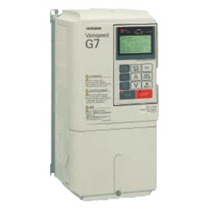 安川電機 インバータ CIMR-G7A47P51 (三相モーター制御用) 三相400V 7.5kW Varispeed G7 本格ベクトル制御インバーター 閉鎖壁掛形