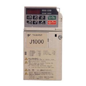 安川電機 インバータ CIMR-JA2A0004BAA (三相モーター制御用) J1000シリーズ 三相 200V 0.4kW 省エネインバーター 保護構造 IP20