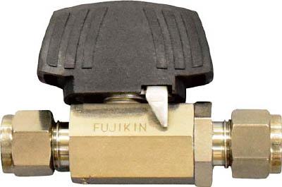 PUBV-94-12.7 フジキン ステンレス鋼製3.92MPaパワフル継手付ボール弁