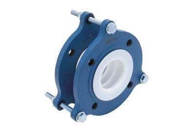 ZTF-5000-100 ゼンシン フッ素樹脂製防振継手 フランジ型
