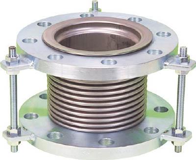 NK7300-200-200 NFK 排気ライン用伸縮管継手 5KフランジSS400 200AX200L