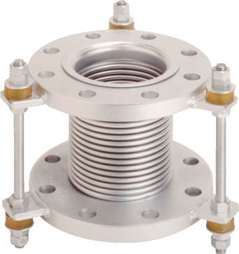 VJ10K-50-150 トーフレ フランジ無溶接型防振継手 10K SS400 50AX150L