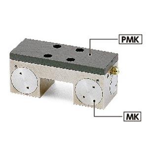 鍋屋バイテック リニアクランパ・ズィー PMK-65-7 PMKシリーズ NBK アダプタプレート