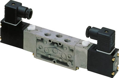4F320-10-AC100V CKD 4Fシリーズパイロット式5ポート弁セレックスバルブ