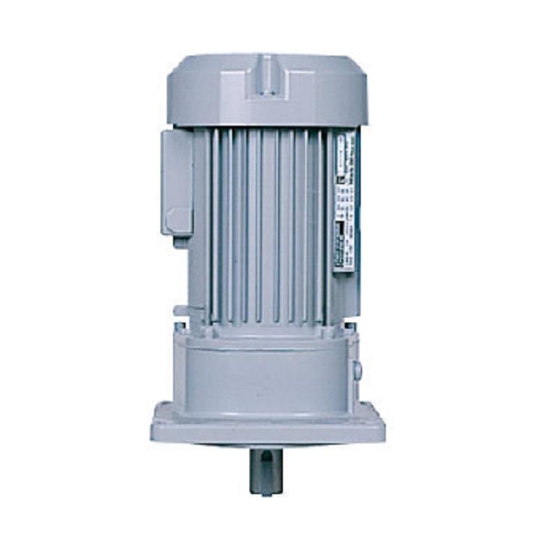 日立産機システム(ヒタチ) ギヤードモーター CAV24-040-15B 三相200V 0.4kW 減速比1/15 立型 フランジ取付 ブレーキ付き 平行軸 CAシリーズ