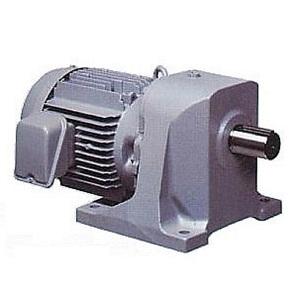 日立産機システム(ヒタチ) ギヤードモーター GP24-075-10 三相200V 0.75kW 減速比1/10 脚取付 ブレーキ無し 平行軸 GPシリーズ