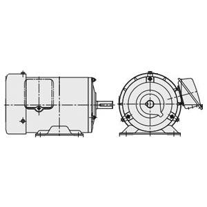 日立(ヒタチ) 三相モータ 0.75KW-TFO-LK-4P-TMR 屋内 脚取付 ブレーキ無し 端子箱(右)AC200V モーター ザ・モートルNeo100 Premium