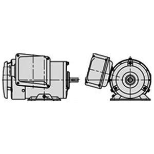 日立(ヒタチ) 三相モータ TFOX-K-0.4kW-6P-AC200V全閉外扇 屋内仕様 安増防爆 脚取付 ブレーキ無し ザ・モートルNeo100