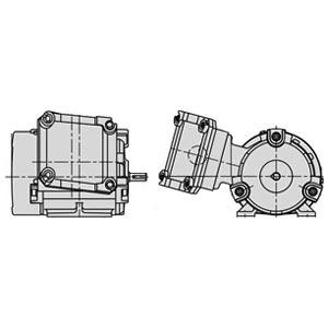 日立(ヒタチ) 三相モータ TFOXX-K-0.4kW-4P-AC200V全閉外扇 屋内仕様 耐圧防爆 脚取付 ブレーキ無し ザ・モートルNeo100