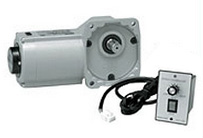 HFU-15T-15-S15 ニッセイ 直交軸 標準タイプ フランジ取付 スピードコントロールモータ付 コントローラセット 単相 15W 両軸(T)