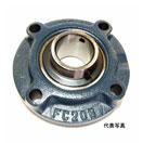 FYH UCFC214 ピローブロック 印ろう付き丸フランジ形ユニット 給油式