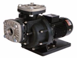 三相電機 自吸式ヒューガルポンプ 50PSPZ-15033A-E3 樹脂製・海水用 口径50A(2B) 出力1500W(50Hz) 三相200V PSPZ型 屋外
