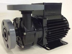三相電機 マグネットポンプ PMD-641B2V ケミカル・海水用 フランジ接続 口径20A 出力65/100W(50/60Hz) 単相100V PMD型 屋内