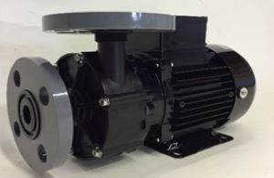 三相電機 マグネットポンプ PMD-2573B2W ケミカル・海水用 フランジ接続 口径25A 出力150/250W(50/60Hz) 三相200V PMD型 屋内
