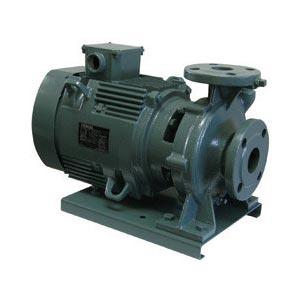 テラル(TERAL) ポンプ 渦巻ポンプ SJM3-65X50L63.7-e 60Hz SJM3型 モートル形 三相200V 3.7kW メカニカルシール