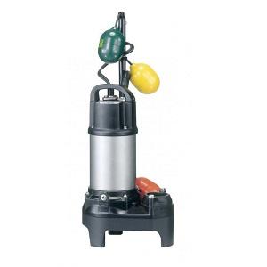 鶴見製作所(ツルミポンプ) 水中ハイスピンポンプ 40PUW2.25S-60HZ 汚物用 PU型 自動交互形 0.25kW 単相100V 60Hz