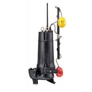 鶴見製作所(ツルミポンプ) 水中ハイスピンポンプ(4極) 50UA4.4-60HZ 汚物用 U型 自動形 0.4kW 三相200V 60Hz