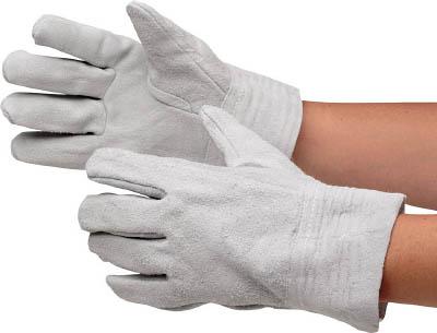 MT-101 ミドリ安全 牛床革手袋 内縫 12双入 MT-101